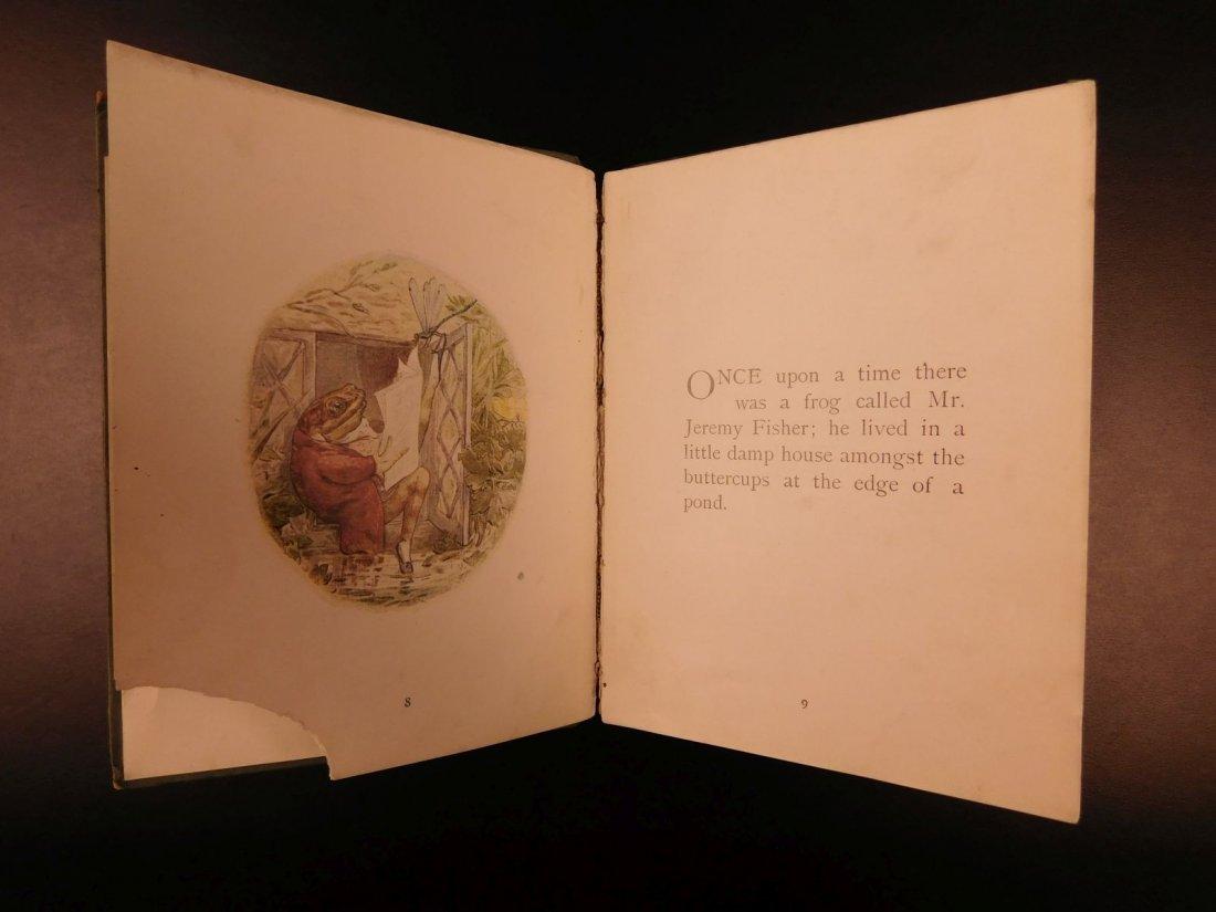 1906 1ed Tale of Mr Jeremy Fisher Beatrix Potter - 5