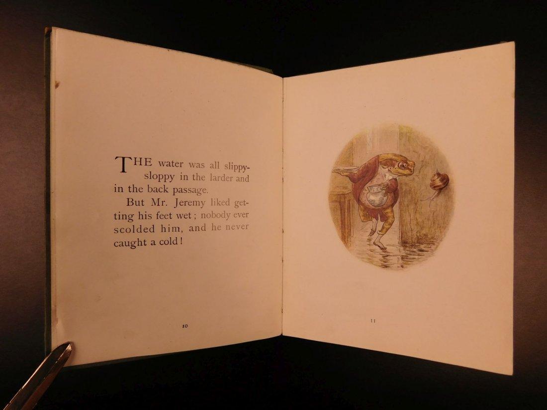1906 1ed Tale of Mr Jeremy Fisher Beatrix Potter - 6