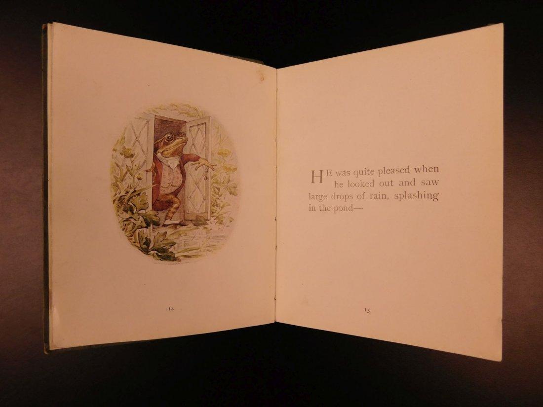 1906 1ed Tale of Mr Jeremy Fisher Beatrix Potter - 7