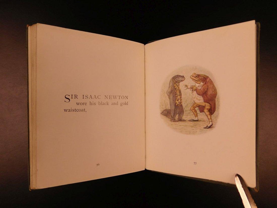1906 1ed Tale of Mr Jeremy Fisher Beatrix Potter - 8