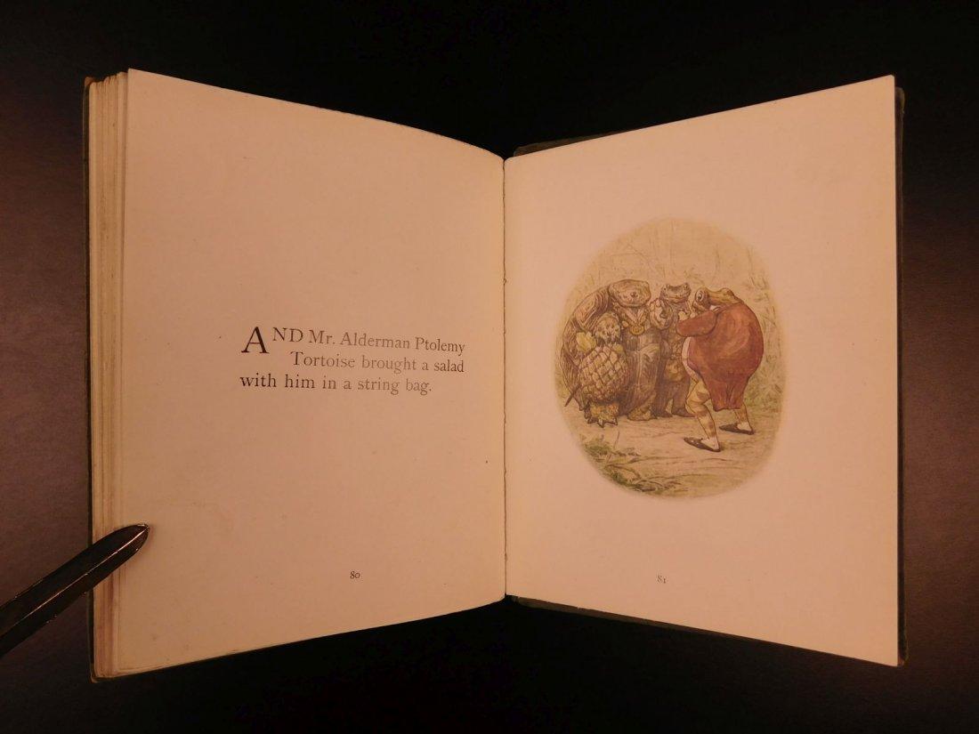 1906 1ed Tale of Mr Jeremy Fisher Beatrix Potter - 9