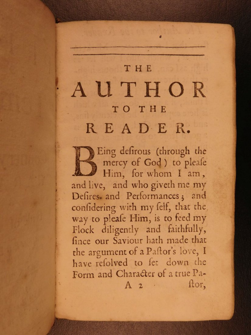 1701 A Priest to the Temple George Herbert Welsh Pastor - 3