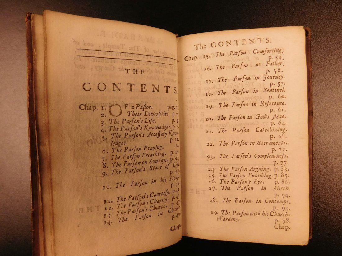 1701 A Priest to the Temple George Herbert Welsh Pastor - 5