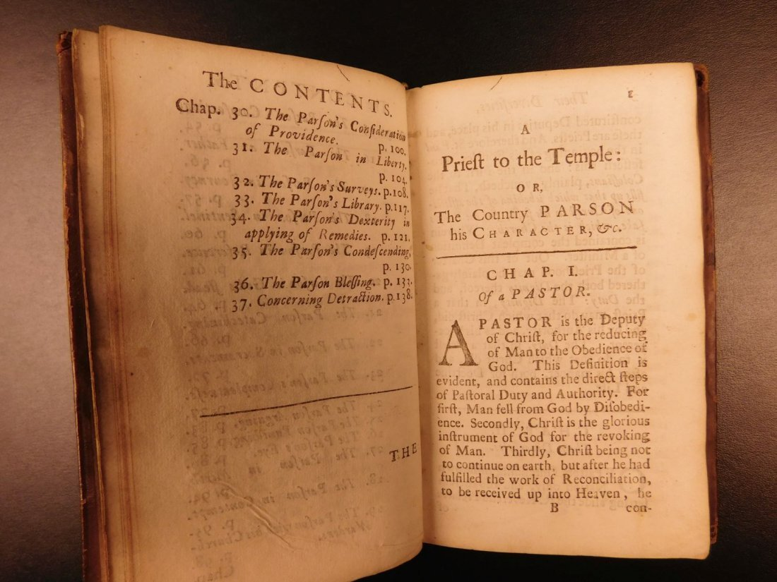 1701 A Priest to the Temple George Herbert Welsh Pastor - 6