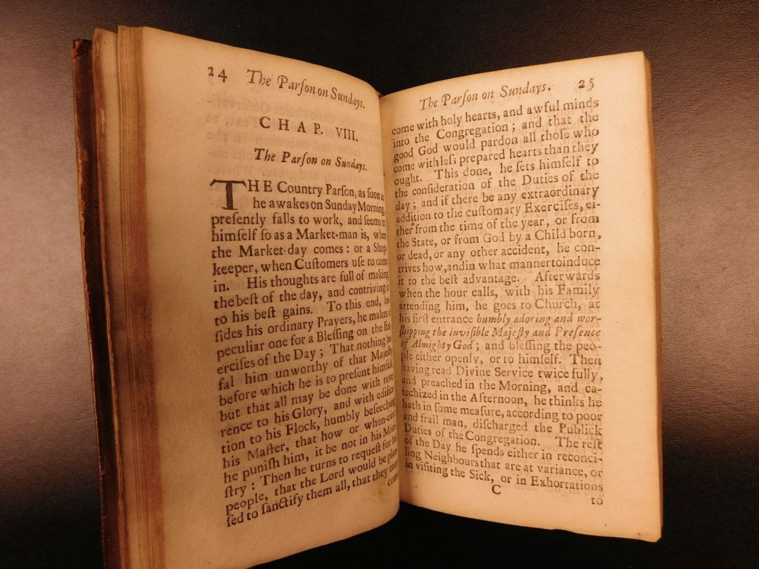 1701 A Priest to the Temple George Herbert Welsh Pastor - 7