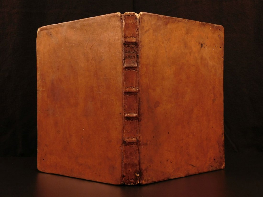 1767 Justus Zacharia German Poems Creation of Hell