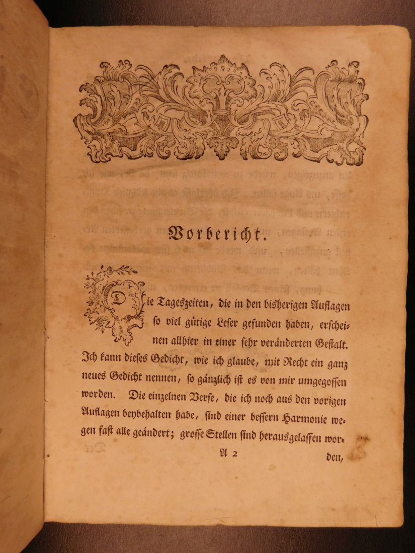 1767 Justus Zacharia German Poems Creation of Hell - 3