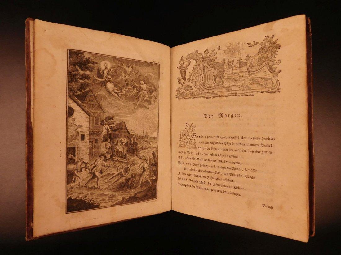 1767 Justus Zacharia German Poems Creation of Hell - 4