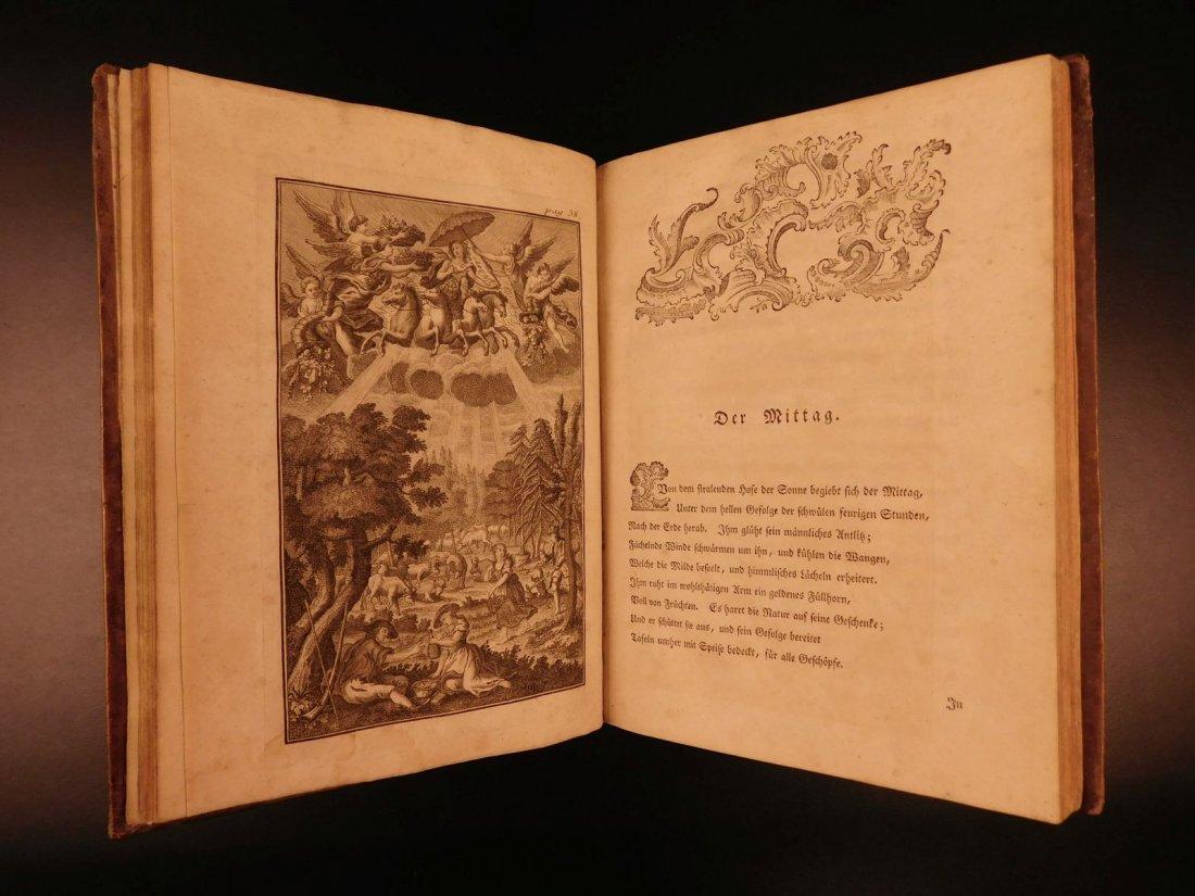1767 Justus Zacharia German Poems Creation of Hell - 5