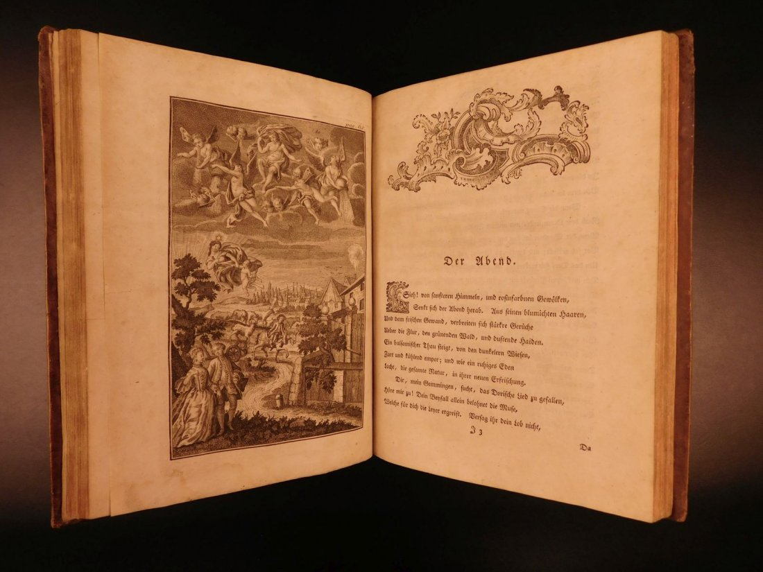 1767 Justus Zacharia German Poems Creation of Hell - 6