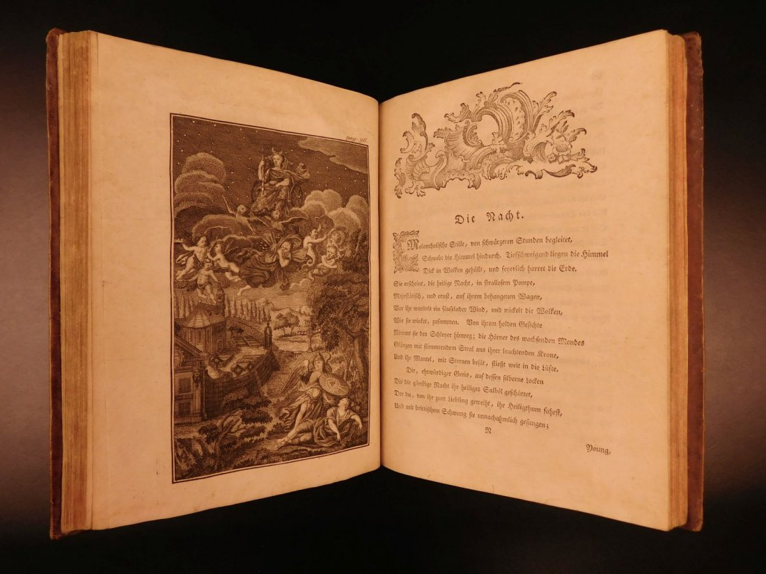 1767 Justus Zacharia German Poems Creation of Hell - 7