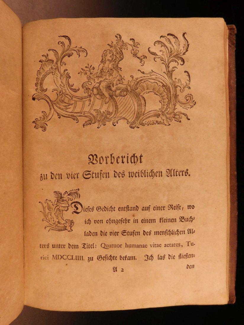 1767 Justus Zacharia German Poems Creation of Hell - 9