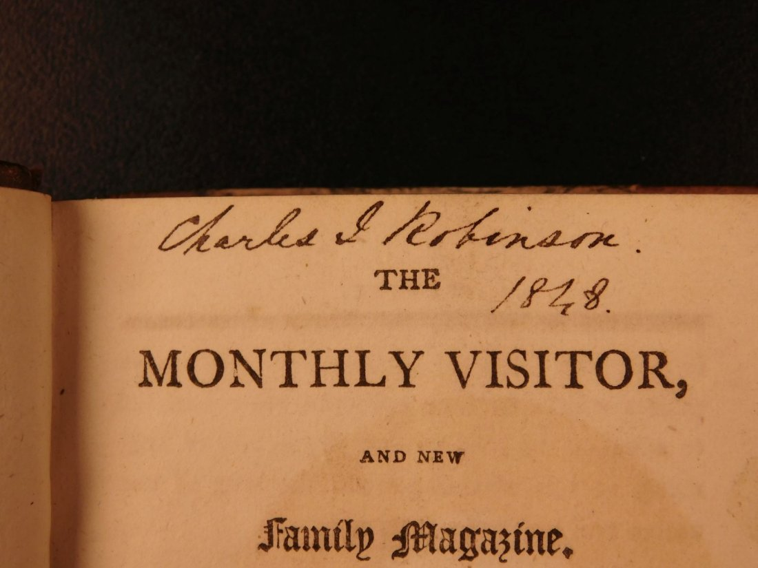 1803 Monthly Visitor & New Family Magazine London - 4