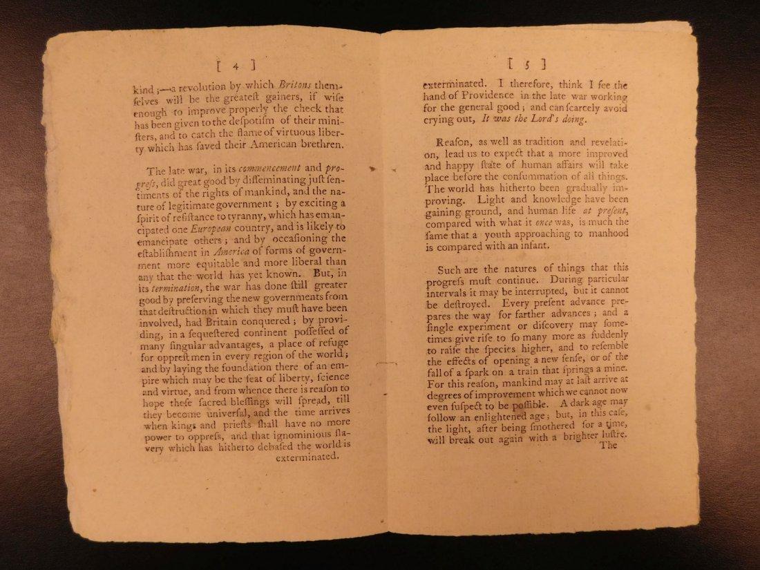 1785 1st ed RARE Importance of American Revolution - 4