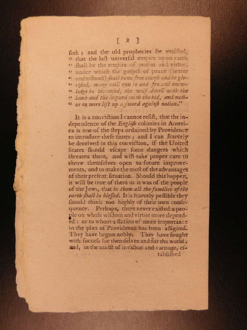 1785 1st ed RARE Importance of American Revolution - 6
