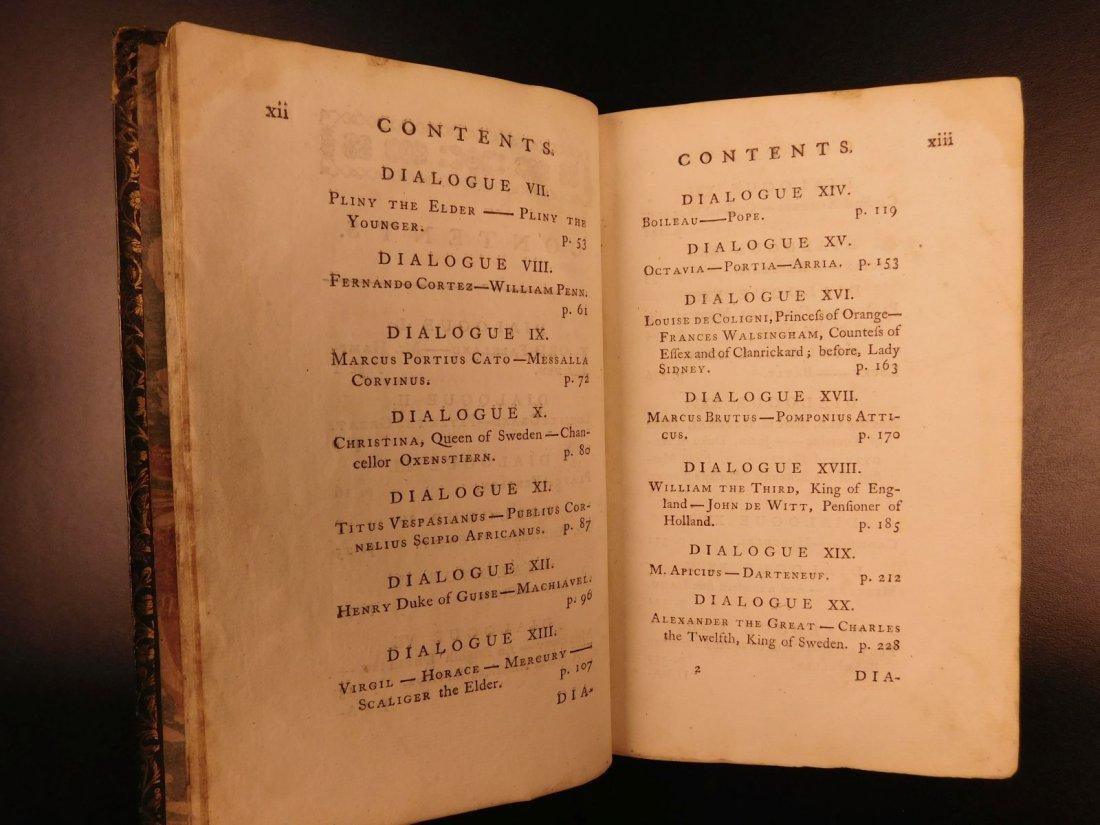 1765 Dialogues of the Dead Lyttelton Mythology Plato - 5