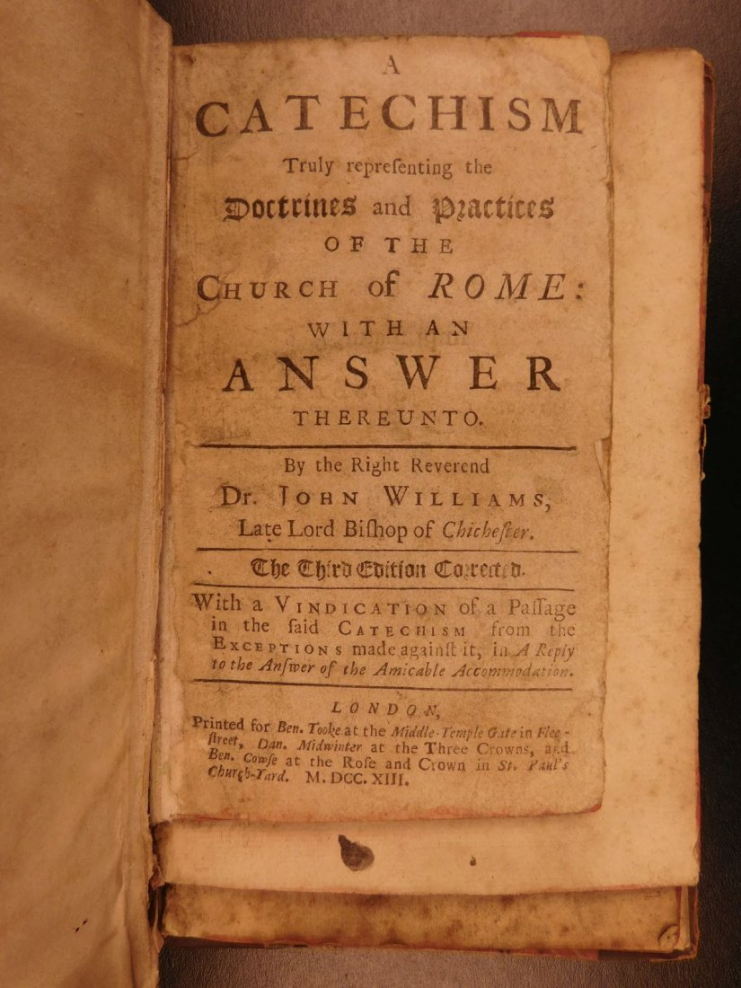 1686 Collection of Anti Catholic Pamphlets Church - 2