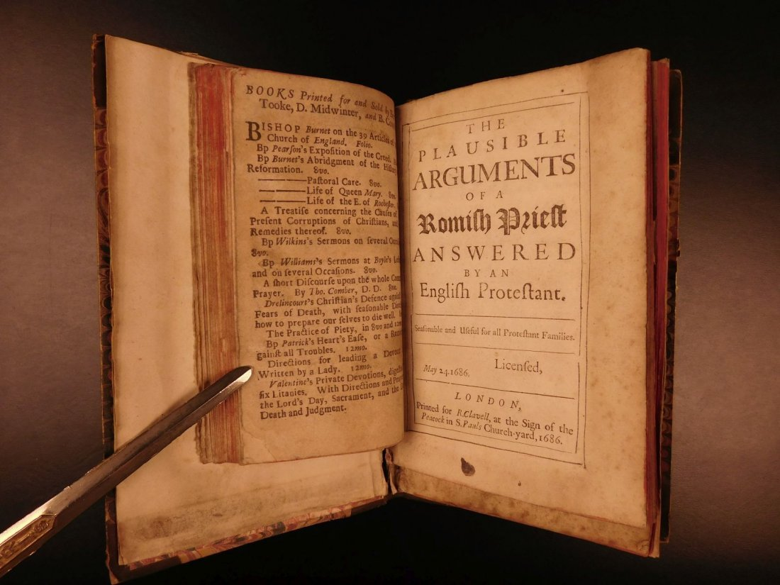 1686 Collection of Anti Catholic Pamphlets Church - 6