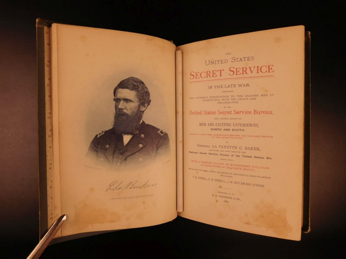 1889 United States Secret Service Wilkes Booth Lincoln - 2