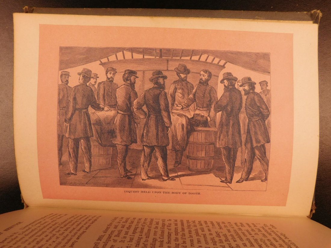 1889 United States Secret Service Wilkes Booth Lincoln - 9