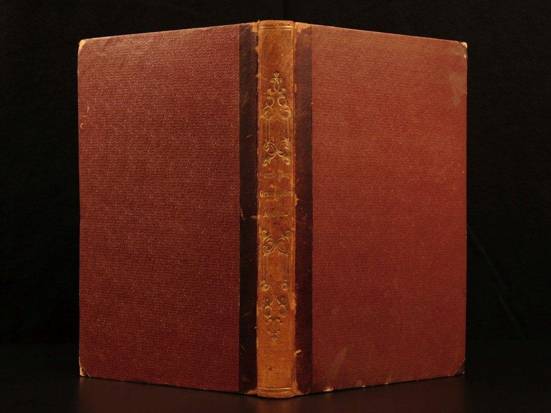 1848 Grammatica Arabica Carl Paul Caspari Arabic BIBLE