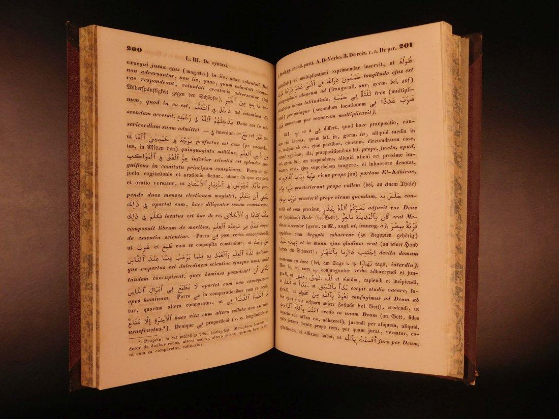 1848 Grammatica Arabica Carl Paul Caspari Arabic BIBLE - 3