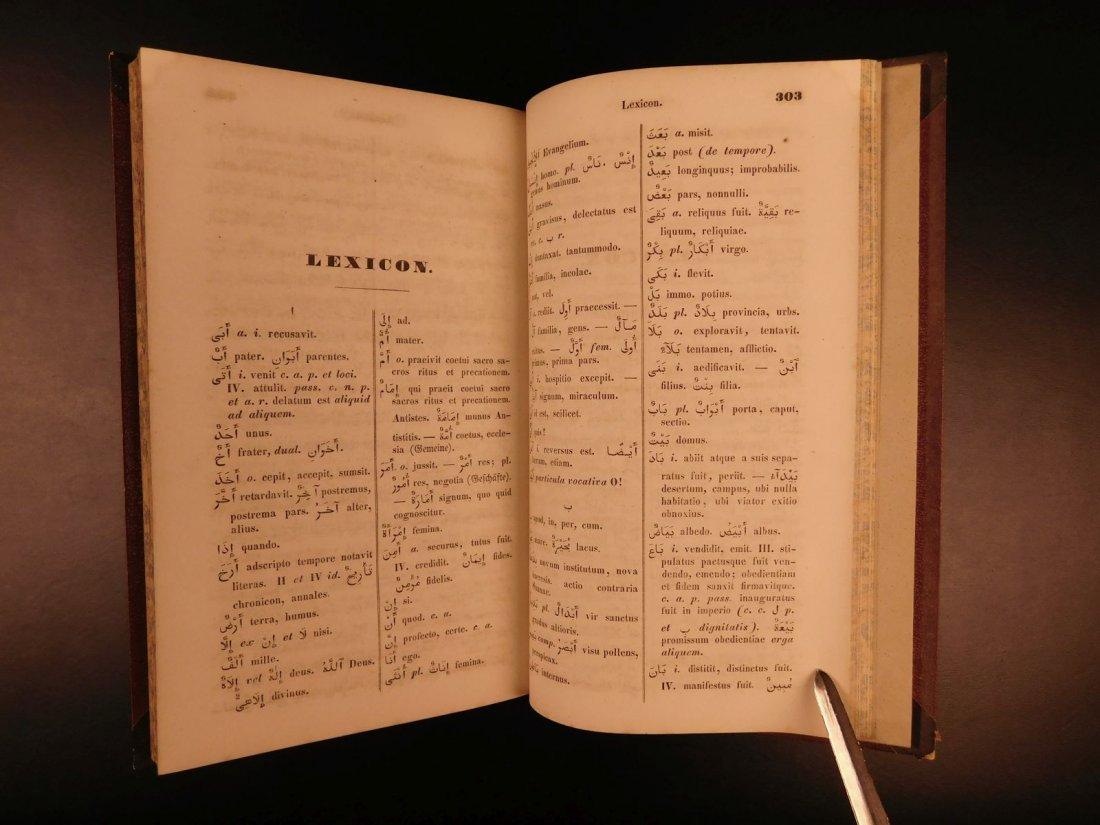 1848 Grammatica Arabica Carl Paul Caspari Arabic BIBLE - 5