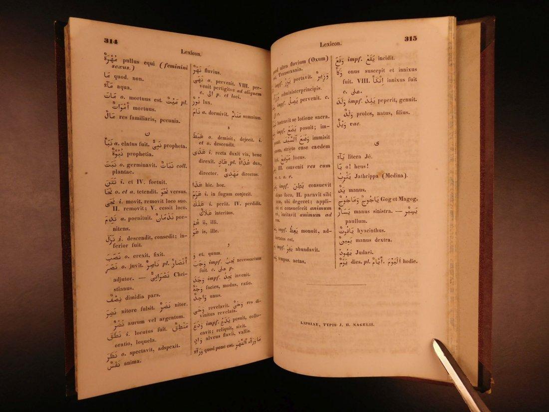 1848 Grammatica Arabica Carl Paul Caspari Arabic BIBLE - 6
