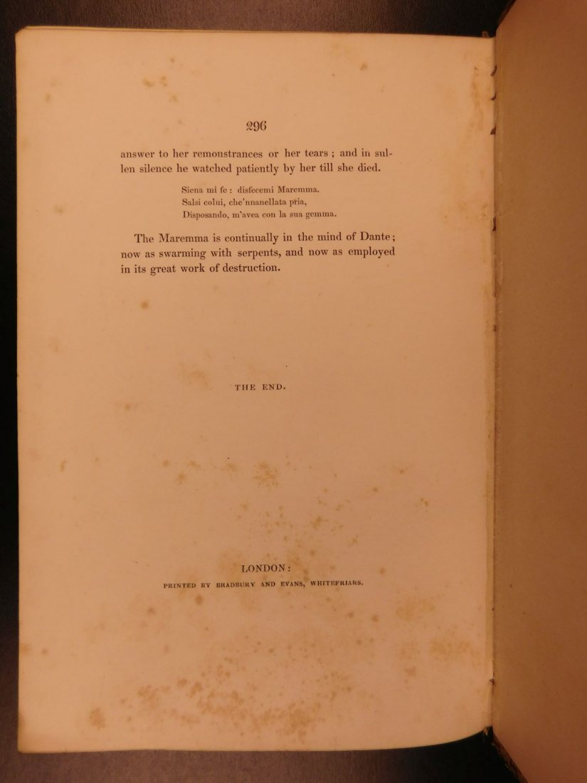 1836 EXQUISITE Samuel Rogers ITALY Poem English Poetry - 10