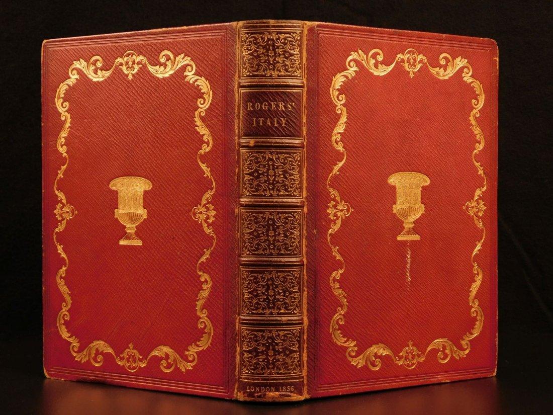 1836 EXQUISITE Samuel Rogers ITALY Poem English Poetry