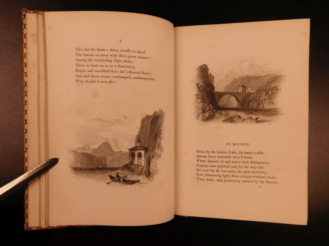 1836 EXQUISITE Samuel Rogers ITALY Poem English Poetry - 4
