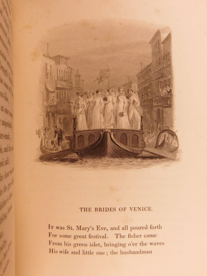 1836 EXQUISITE Samuel Rogers ITALY Poem English Poetry - 8
