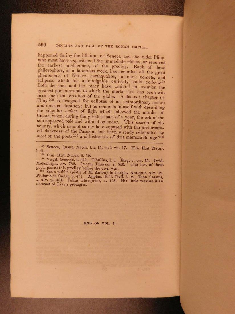 1850 Famed Edward Gibbon Decline & Fall of Roman Empire - 10
