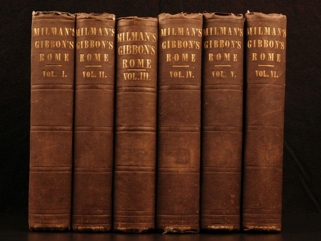 1850 Famed Edward Gibbon Decline & Fall of Roman Empire