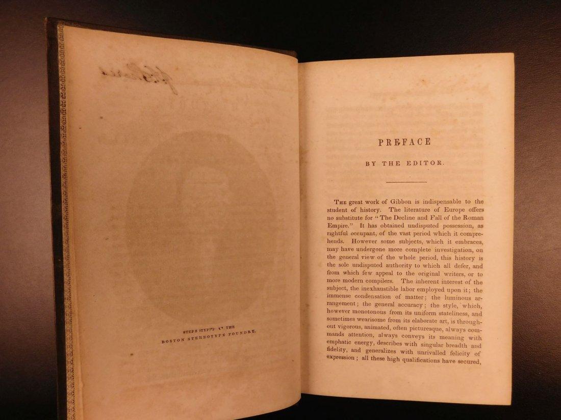 1850 Famed Edward Gibbon Decline & Fall of Roman Empire - 4