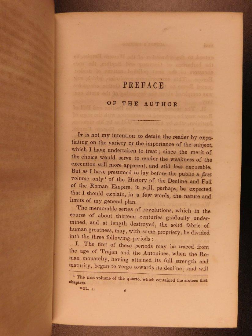 1850 Famed Edward Gibbon Decline & Fall of Roman Empire - 5
