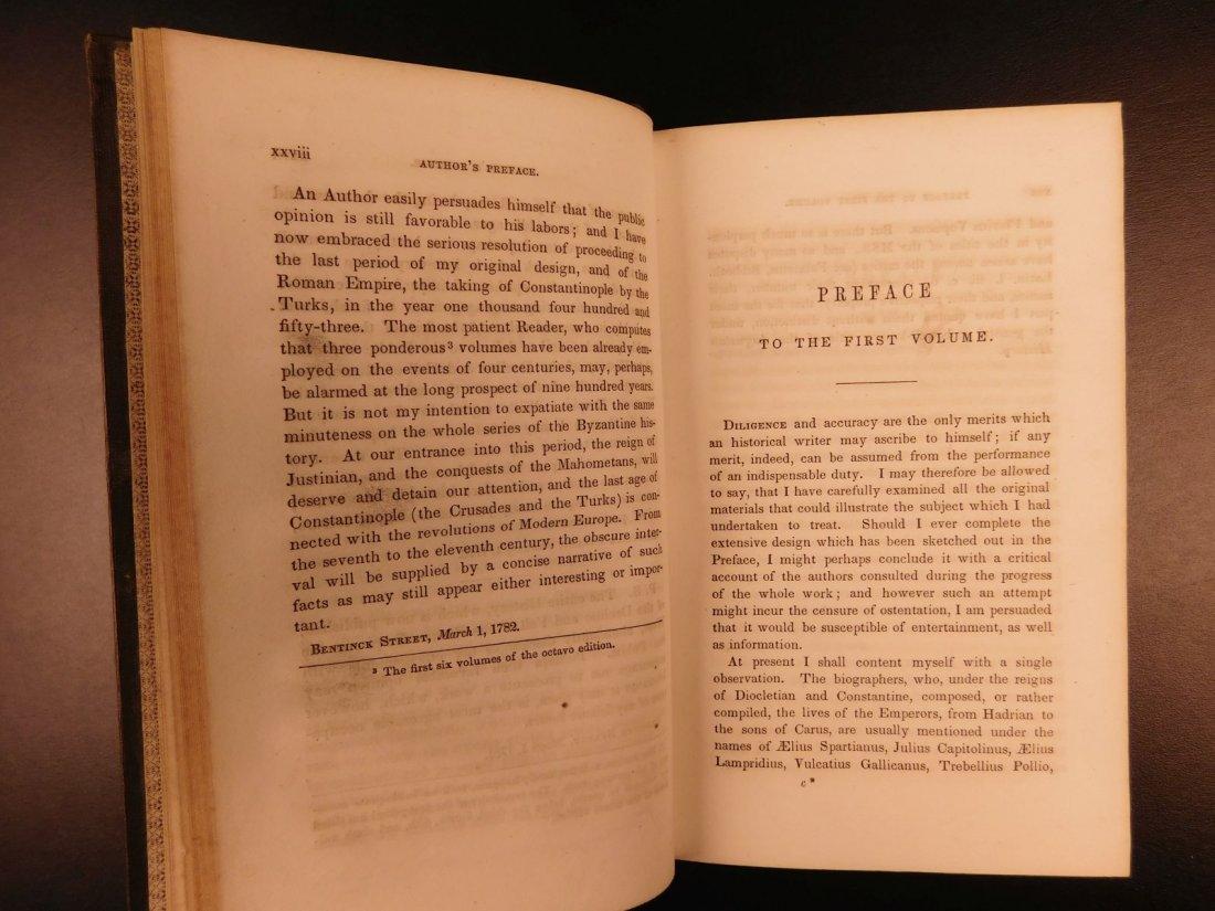 1850 Famed Edward Gibbon Decline & Fall of Roman Empire - 6