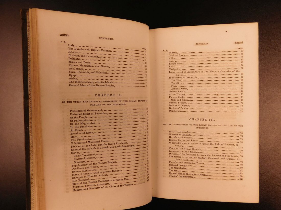 1850 Famed Edward Gibbon Decline & Fall of Roman Empire - 8