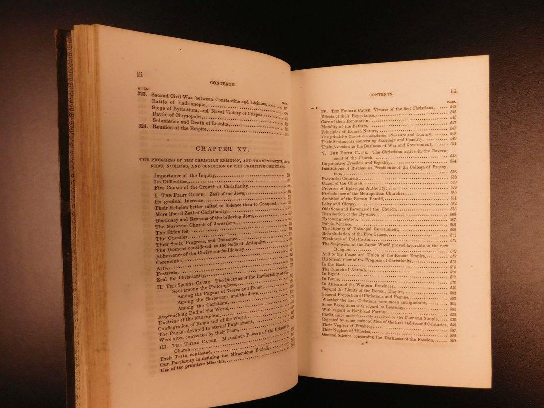 1850 Famed Edward Gibbon Decline & Fall of Roman Empire - 9