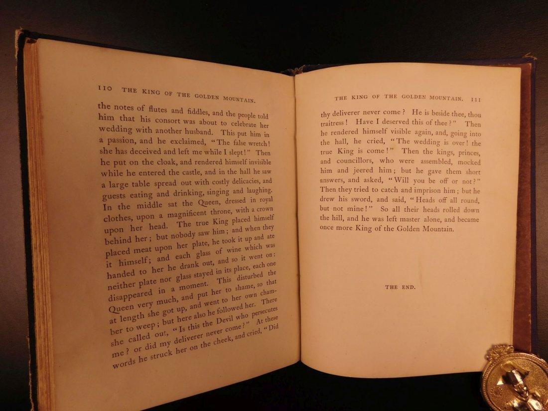 1867 Grimm's Goblins Fairy Tales Illustrated Cruikshank - 10