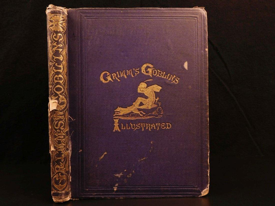 1867 Grimm's Goblins Fairy Tales Illustrated Cruikshank