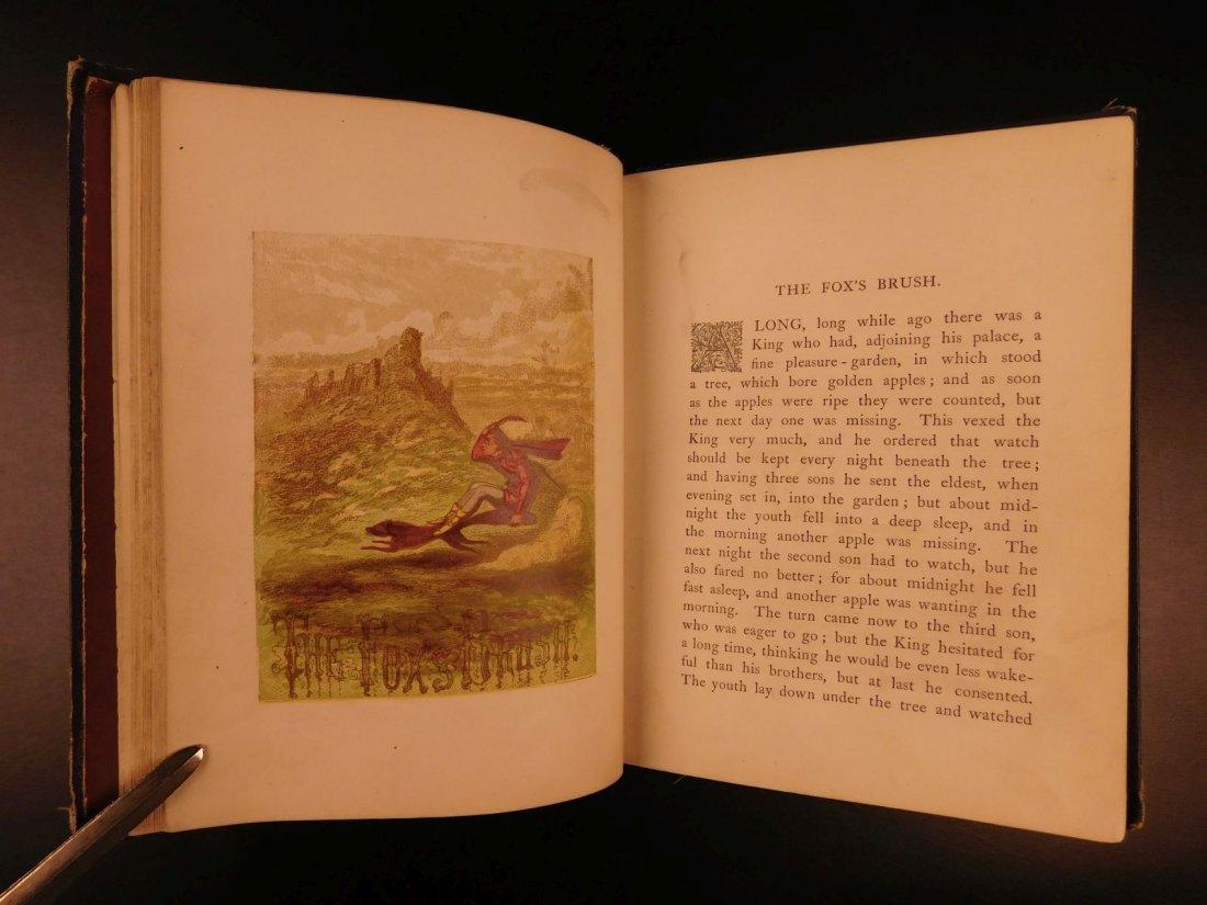 1867 Grimm's Goblins Fairy Tales Illustrated Cruikshank - 5