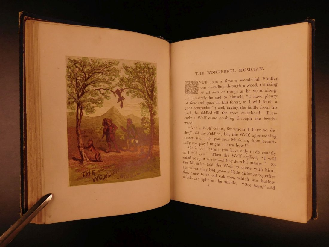 1867 Grimm's Goblins Fairy Tales Illustrated Cruikshank - 6