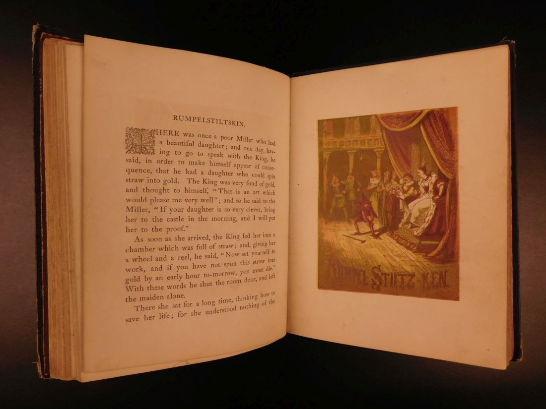 1867 Grimm's Goblins Fairy Tales Illustrated Cruikshank - 7