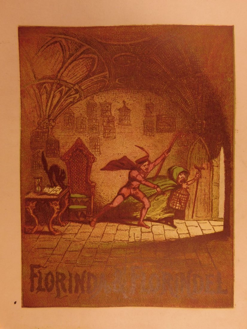 1867 Grimm's Goblins Fairy Tales Illustrated Cruikshank - 8