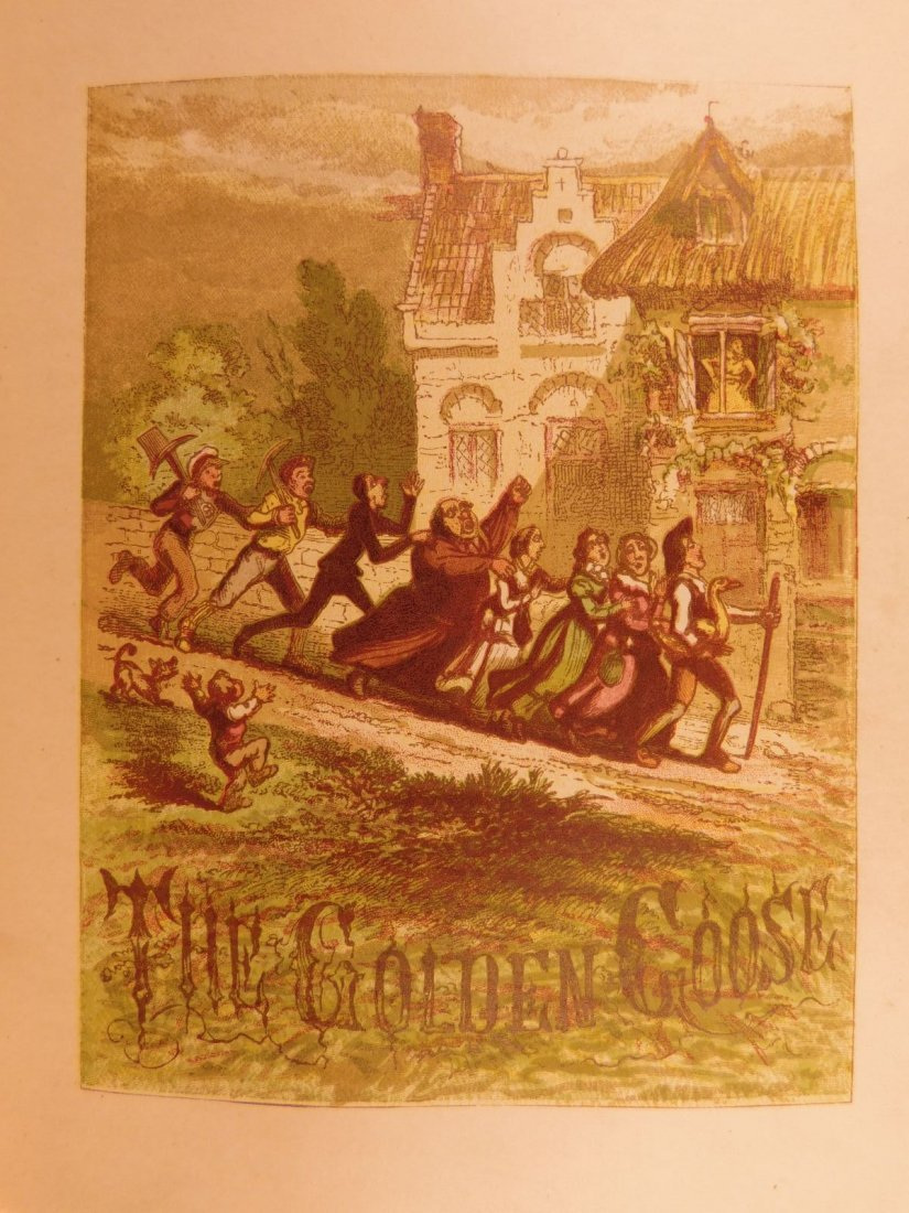 1867 Grimm's Goblins Fairy Tales Illustrated Cruikshank - 9