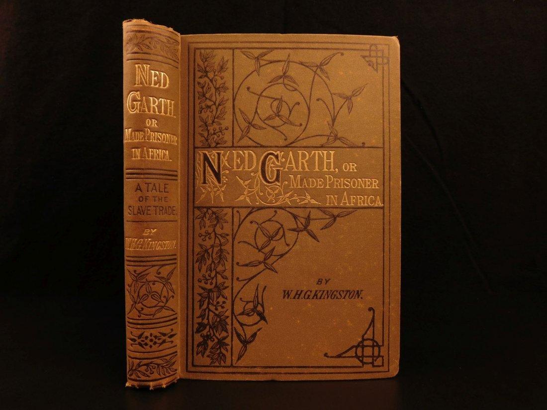 1885 1st ed Africa Slave Trade Ned Garth Prisoner