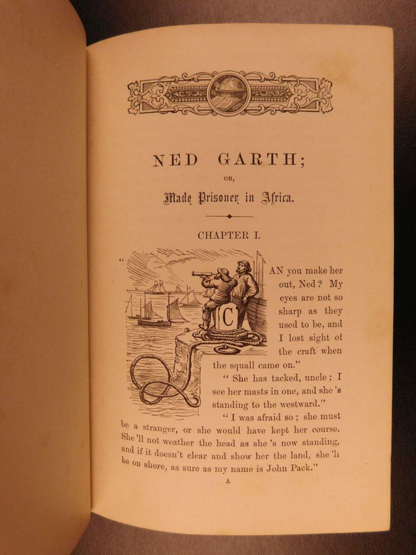 1885 1st ed Africa Slave Trade Ned Garth Prisoner - 3