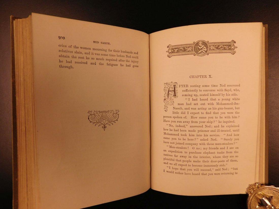 1885 1st ed Africa Slave Trade Ned Garth Prisoner - 6