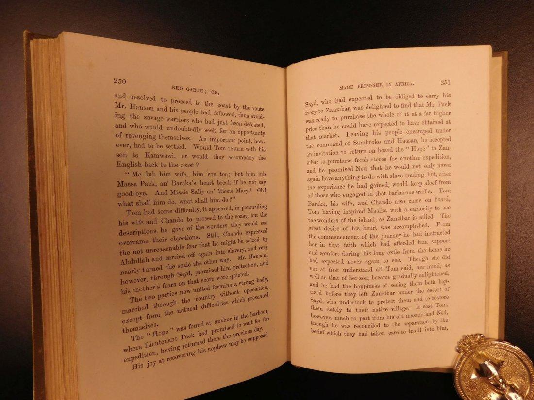1885 1st ed Africa Slave Trade Ned Garth Prisoner - 8